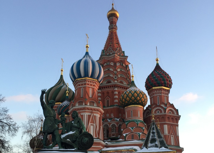 st basil red square Moscow Russia
